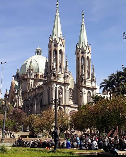 Ontém a Catedral tava lindíssima 😏__#le
