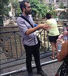 Giuliano tour guiding in Naples