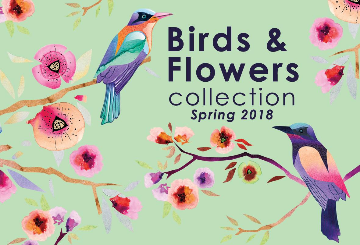 kolekcja Birds&Flowers