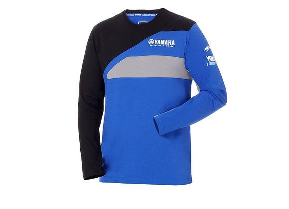 Camiseta manga larga hombre Paddock Blue