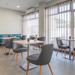 Sala de pequeno-almoço e área comum