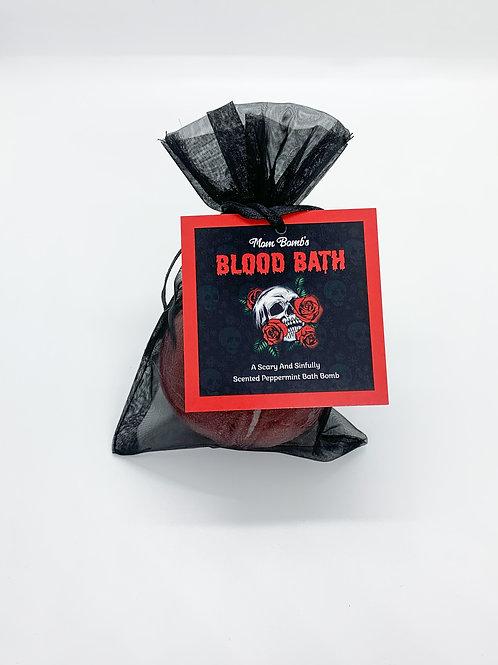 """""""Blood Bath"""" Bath Bomb Single"""