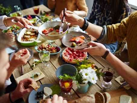 Biggest Loser Blog Series: Social Eating