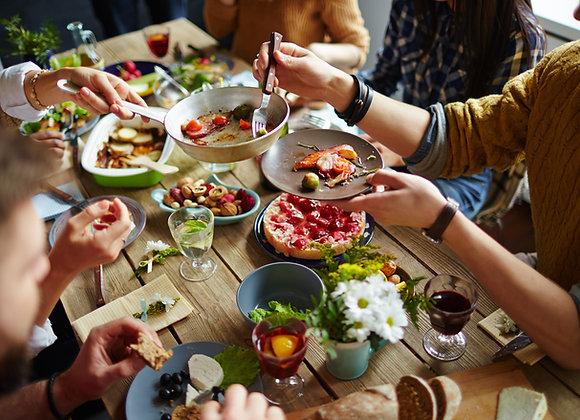 תכנית ליווי משפחתית לתזונה מאוזנת בבית