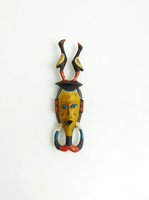 Masque africain vintage