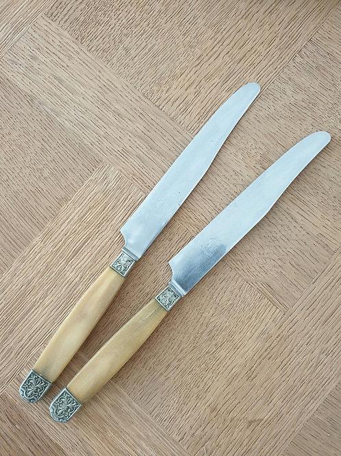 8 couteaux vintage