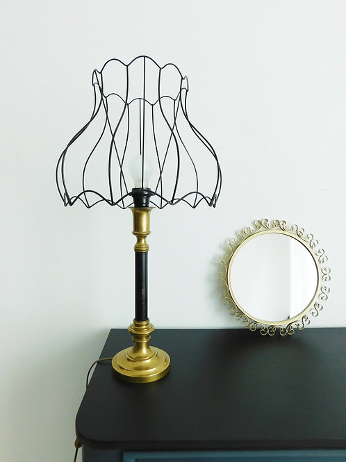 Lampe de style Art Deco, abat jour restylé