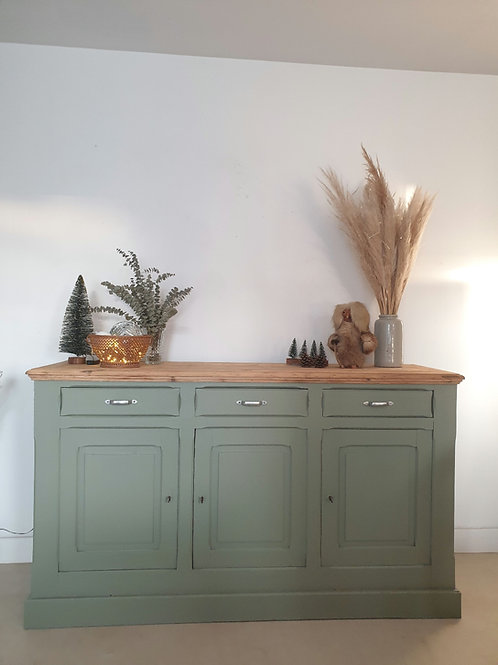 Buffet campagne vintage