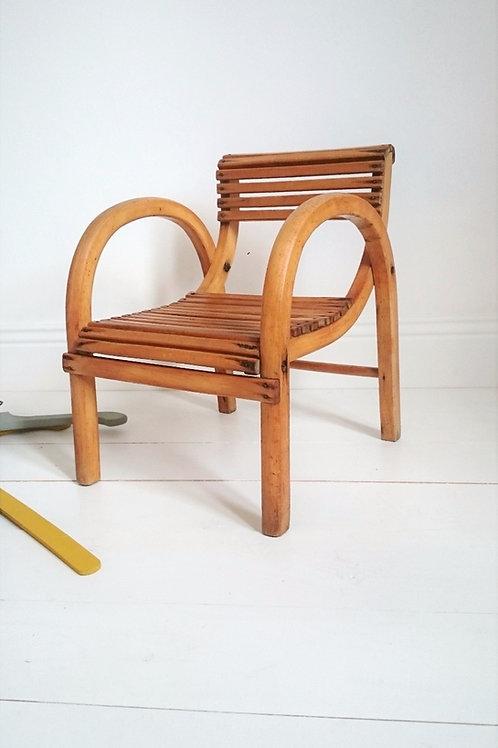 Petit fauteuil d'enfant Baumann