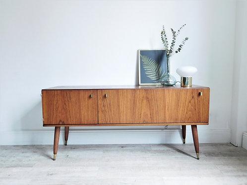 Enfilade basse vintage scandinave / meuble tv