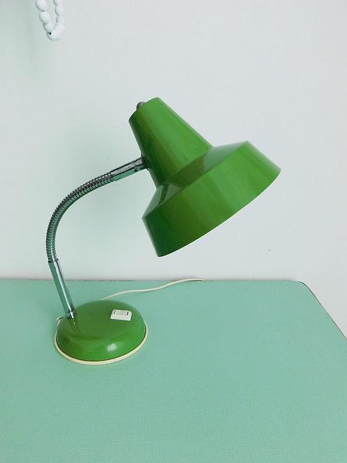 Lampe de bureau vintage verte
