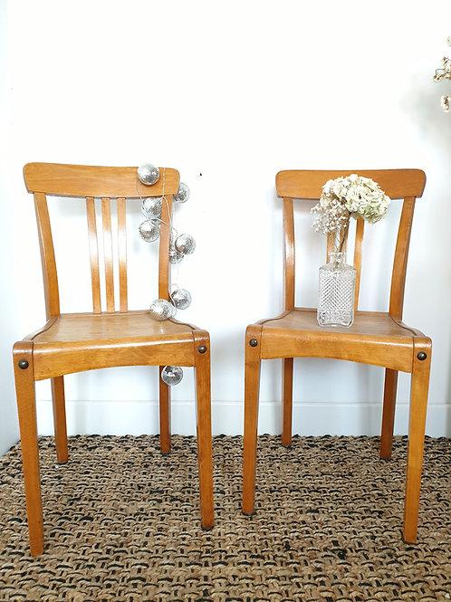 Modèle rare de chaises bistrot