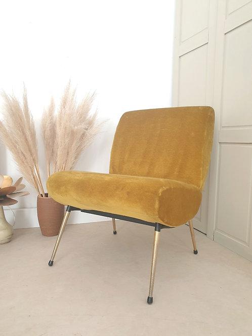 Fauteuil design Pelfran des années 60