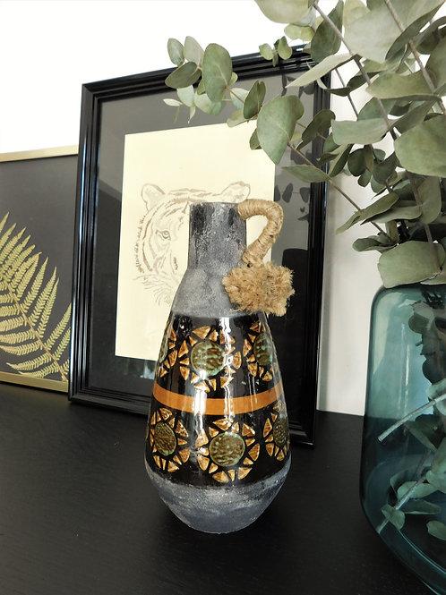 Vase en céramique des années 50 West Germany