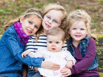 BLUE EYED GIRLS // BAYLANDS PARK // FAMILY SESSION