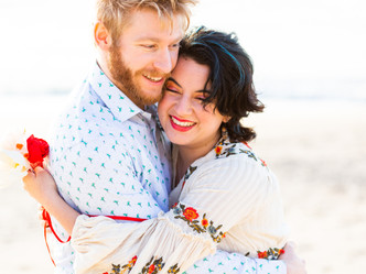 CLIFFSIDE BEACH ENGAGEMENT SHOOT // COWELL RANCH BEACH // HALF MOON BAY
