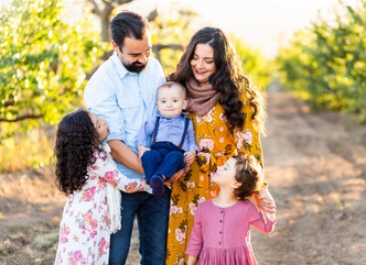 FAMILY SESSION // HERITAGE ORCHARD, SARATOGA