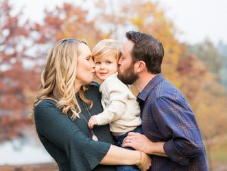 FALL FAMILY SESSION // VASONA LAKE PARK //  MINI SESSION