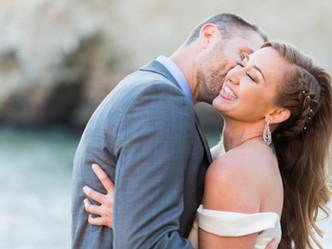 INTIMATE CLIFFSIDE WEDDING // SHARKFIN COVE BEACH, DAVENPORT // WEDDING