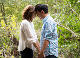 JESSICA + KEVIN // HENRY COWELL STATE PARK & NATURAL BRIDGES // ENGAGEMENT PHOTOGRAPHY