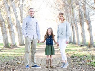 WINTER FAMILY SESSION // BAYLANDS PARK // FAMILY