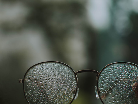 LOOKING THROUGH CLEAR LENSES
