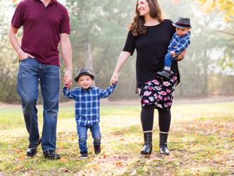 FAMILY PHOTO SHOOT // VASONA PARK, LOS GATOS