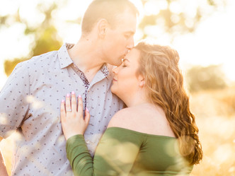 KAITLIN & GRAESON // ENGAGEMENT SESSION // BAYLANDS PARK
