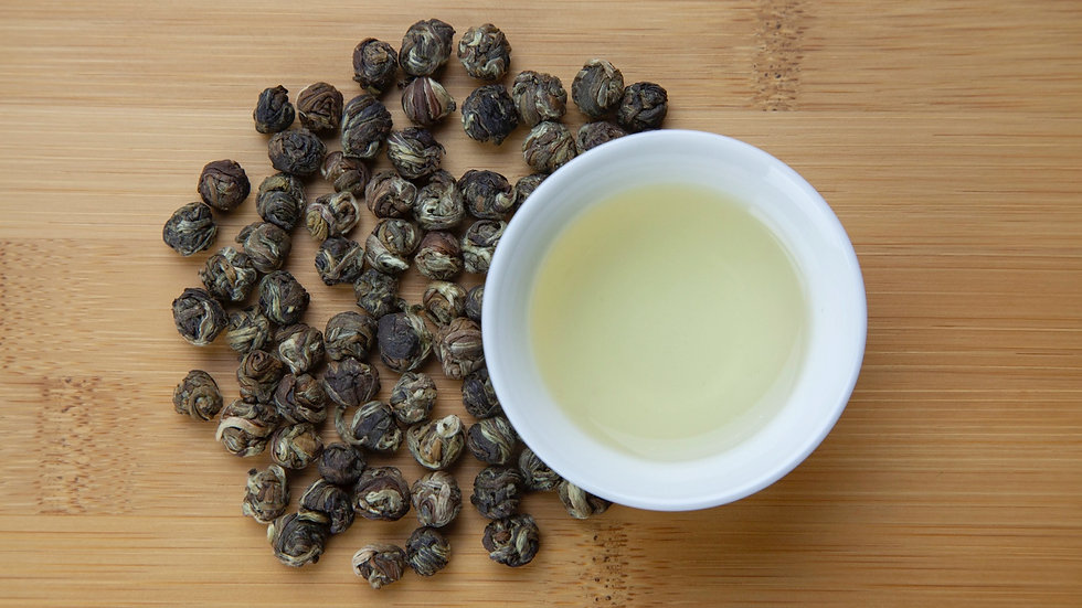 Green jasmine Pearl organic