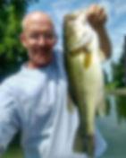 Dan Kephart.  Pro Team member for Lucky 7 Baits.