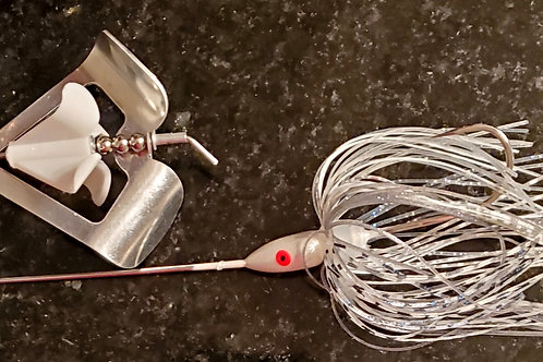 "Twin Turbo Buzzbait ""Shimmering Shad"""