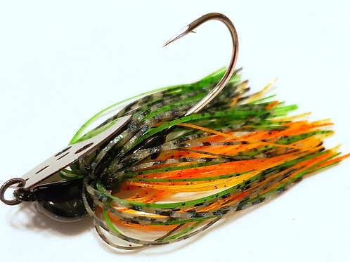 "Shaker Bladed Jig ""Perch"" colorway"