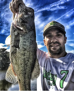 Jeff Gonyea.  Pro Team member Lucky 7 Baits.