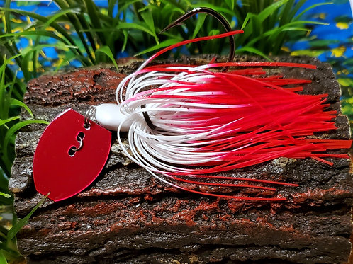 "Shaker Bladed Jig ""Red Bottom"""