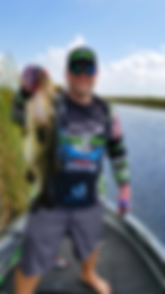 Sean Johnson.  Owner of Lucky 7 Baits.  Tournament Angler for the King of the Glades team trail.  Member of B.A.S.S.