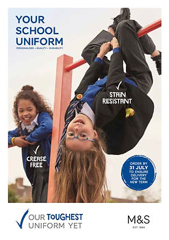 M&S Your School Uniform Leaflet 2020 (dr