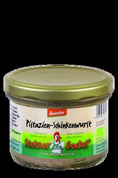 Pistazien-Schinkenwurst
