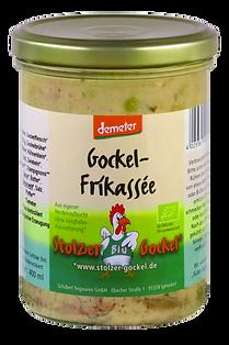 Gockel-Frikassee