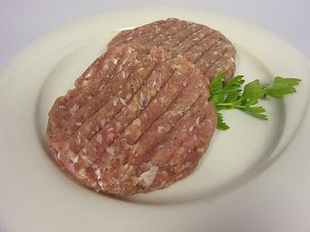 Gockel-Burger-Patties