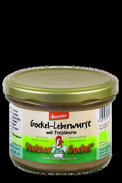 Gocke-Leberwurst mit Preiselbeeren
