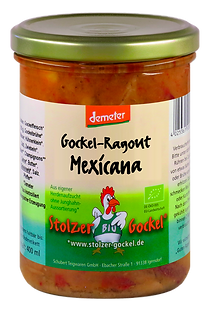 Gockel-Ragout Mexicana