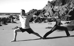 cabarita beach yoga, warriors