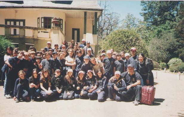 2007 - Primer viaje Sierra