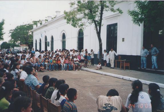 2003 - Campaña solidaria en Corrientes