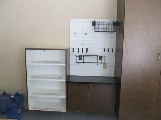 Garage cabinets workstation