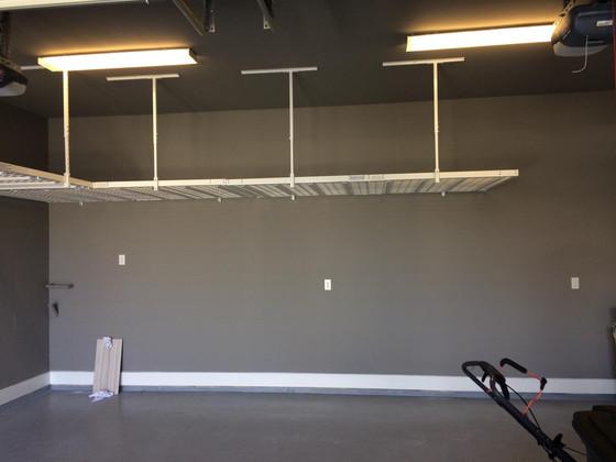 1000lbs garage overhead storage racks