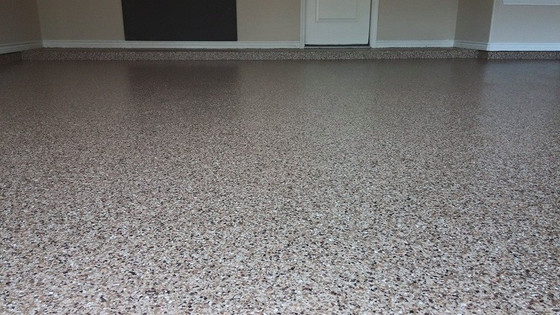 Epoxy floor coating 1 day installation on most applications.