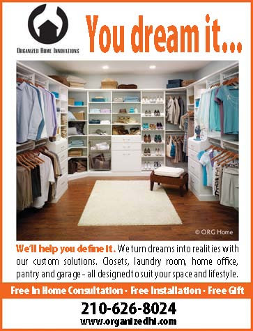 Custom closets, walk in or reach in and pantries.  2106268024