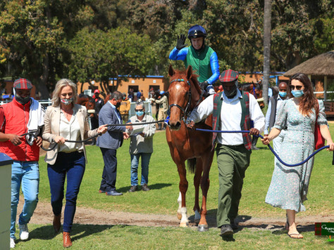 FIRST SOUTH AFRICAN WINNER FOR MAURICE