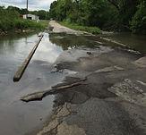 Spring River bridge in Lawrence County, Missouri